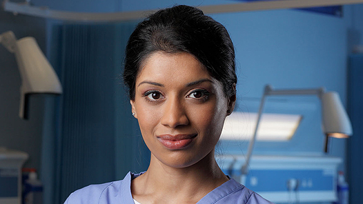 Bbc One Casualty Madiha Durrani Character Page Actor
