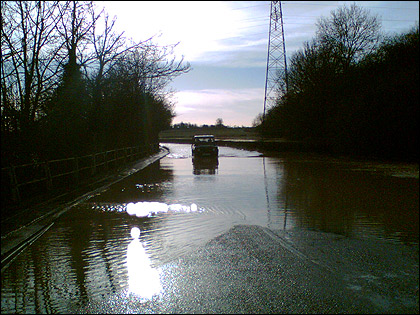 Flooding in Leicestershire