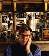 Alan Bennett by Derry Moore © Derry Moore Loaned by the National Portrait Gallery