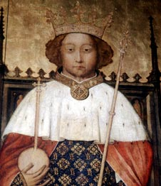 Portrait of Richard II