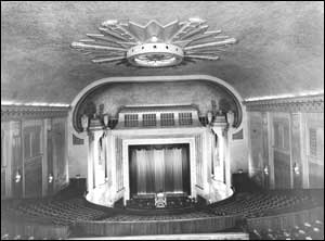 The inside of the Futurist