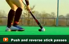 playing the push and reverse stick passes