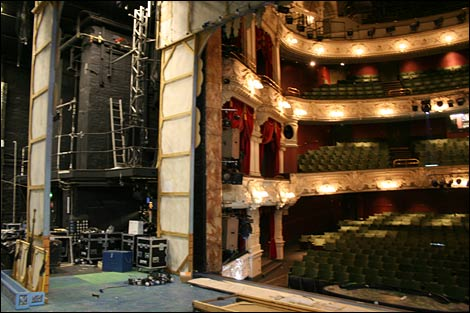 Bbc Tyne In Pictures Backstage At Theatre Royal