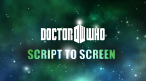 Doctor Who Script To Screen logo