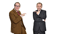 Vic Reeves and Bob Mortimer introduce more mayhem in Shooting Stars