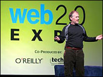 Tim O'Reilly at Web 2.0 expo