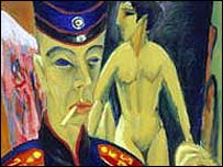 Some of the German expressionist's paintings were burned during the Nazi era and called 'degenerate'