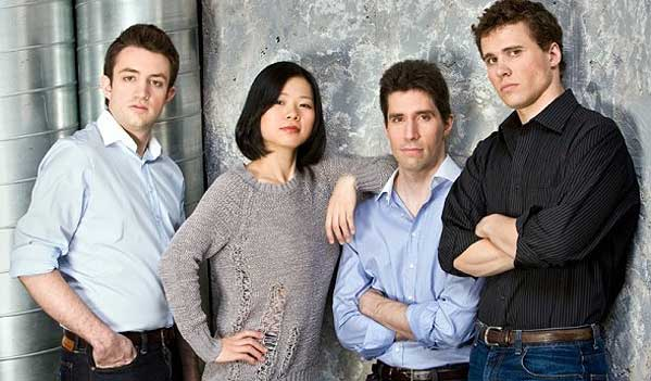 Photo of the Escher Quartet