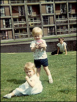 Children play at Park Hill, 1960s