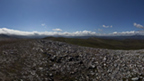 View from the top of Carn Bhac showing the surrounding mountains.