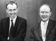 James Watson and Francis Crick, 1959