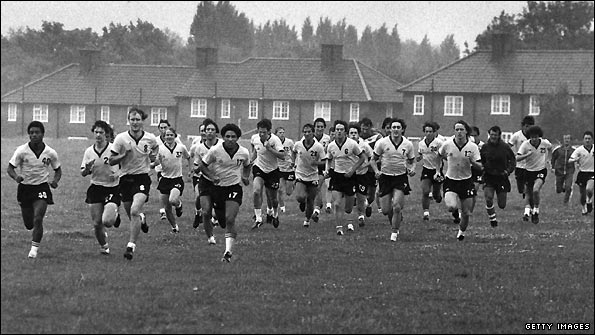 Pre-season training has changed significantly over recent decades