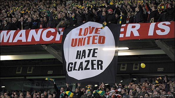 The Glazers have been subject to sustained protests at Old Trafford