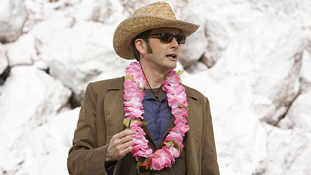 David Tennant as Doctor Who in the 2009 Christmas special