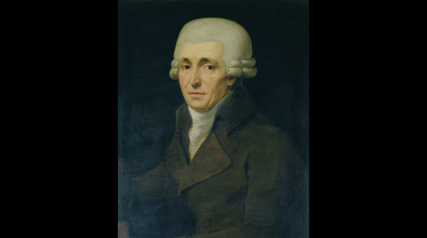 Haydn in 1799 by John Carl Rossler