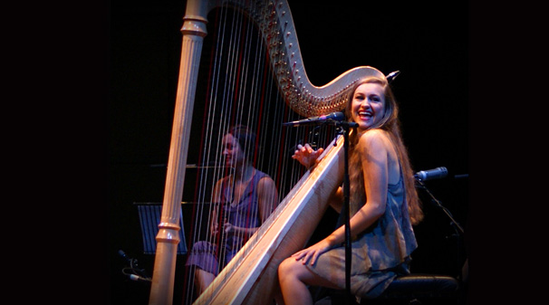 Joanna Newsom. Photograph by Scott Smyth.