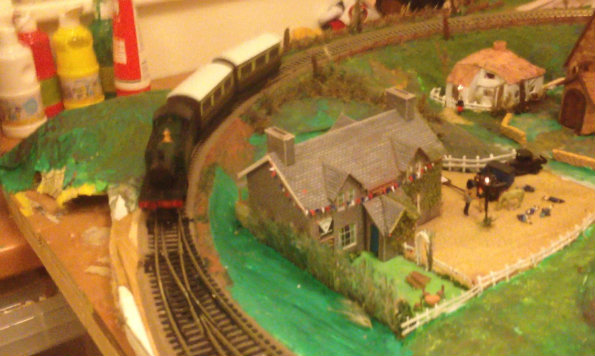 Bbc Anne Diamond S Blog My Model Railway Has Even