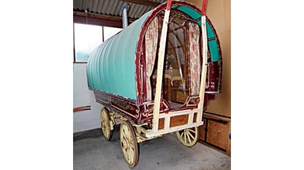 Round Open-Lot Gypsy Vardo (waggon)