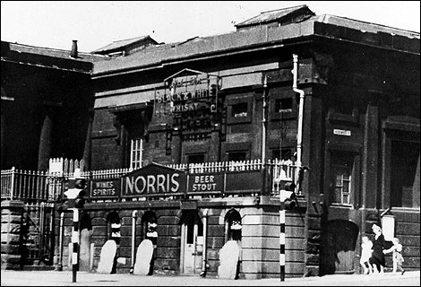 Norris brewery in Burslem