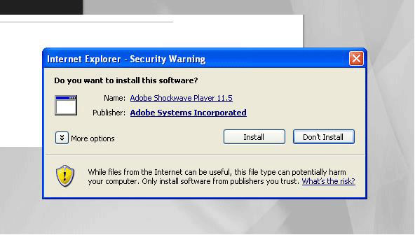 BBC - WebWise - Adobe Shockwave Player - Windows download guide