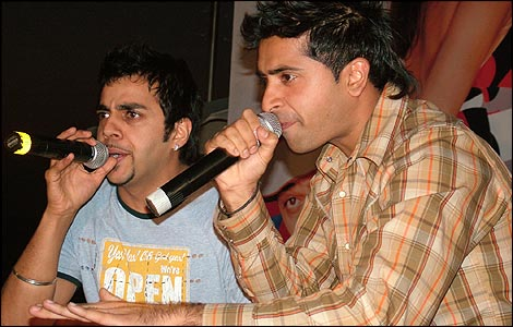 Jay Sean (left) and Rishi Rich (right)