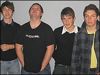 The Arctic Monkeys line-up