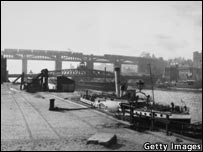 River Tyne c 1910. Photo: Getty Images