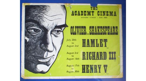 POSTER FROM ACADEMY CINEMA,OXFORD STREET