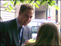 Prince William in Walsall