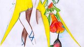 Fashion drawing...