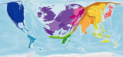 BBC - Mark Easton\'s UK: Map of the week: Global wealth