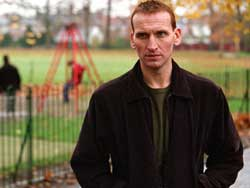 Christopher Eccleston plays Joe Broughton in Flesh and Blood