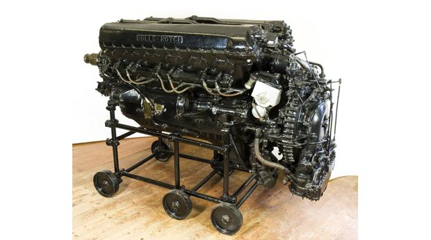 The Rolls Royce Merlin Engine - the worlds most famous aero engine © Derby Museums and Art Gallery