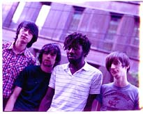 Bloc Party show their concern as the city they're in slips slowly into the sea...