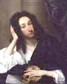 Portrait style painting of John Evelyn by Robert Walker