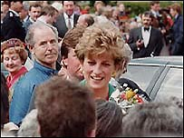 The Princess of Wales: Diana in Alfreton