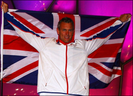Mark Foster, GB flag-bearer at Beijing - a gold medal hope too?