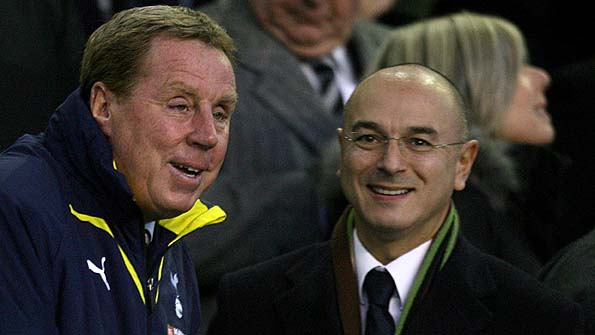 Daniel Levy and Harry Redknapp