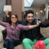 Bobby Friction with Bollywood actress Rani Mukherji.