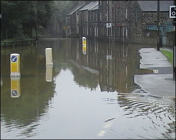 Darfield, flooding