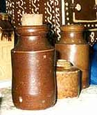 Image of Canney Hill Pottery storage jars