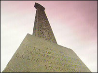 The Ebbsfleet memorial cross