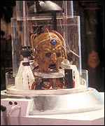 Terry Molloy as Davros in Revelation of the Daleks