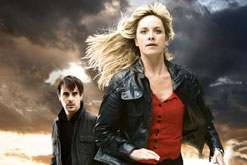 Tamzin Outhwaite and Emun Elliott in Paradox