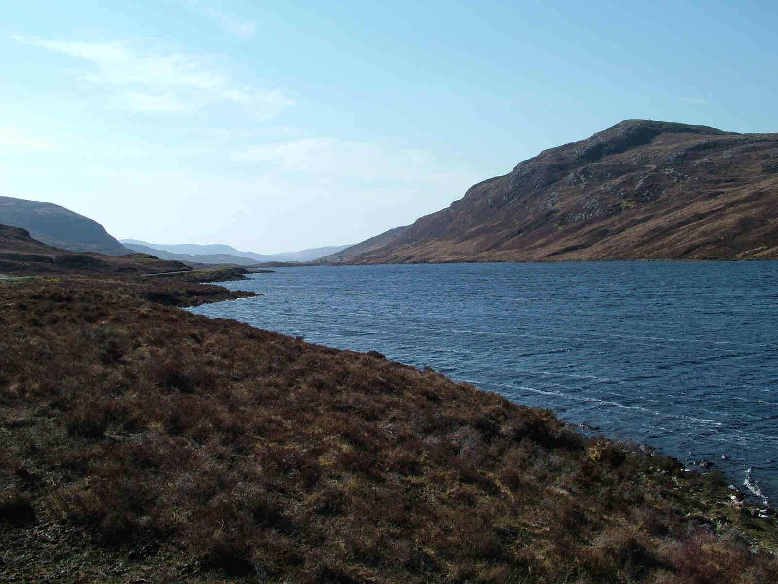 Mullach Mhalasgair at Loch Sgiobacleit just east of Seaforth Head