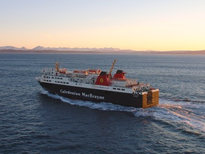 Isle of Lewis ferry in the Minch