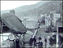 Hallsands before the collapse
