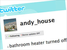 Screengrab of andyhouse twitter page