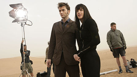 David Tennant and Michelle Ryan in Dubai