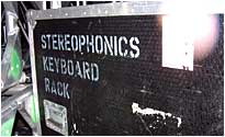 Stereophonics' gear arrives for Sunday's event